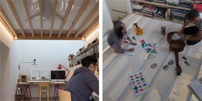 小小办公室,紧凑布局,却营造出舒适宽敞的环境氛围
