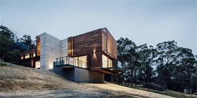 澳大利亚Invermay住宅,悬挑于山丘之上,享受绝佳观景体验