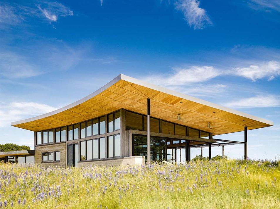 加利福尼亚:与自然和谐共存的绿色住宅