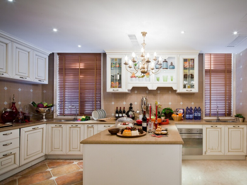 厨房7㎡,一座中岛,两倍收纳!