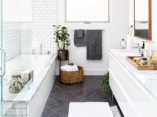 小户型怎么让卫生间大一倍?12个设计原则帮到您!