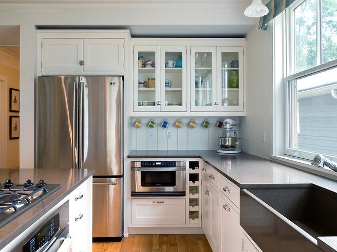 """小厨房装修技巧 5招让你的厨房看着""""变大"""""""