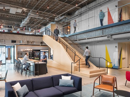 美国微软新英格兰研发中心,创造更友善、舒适的办公空间