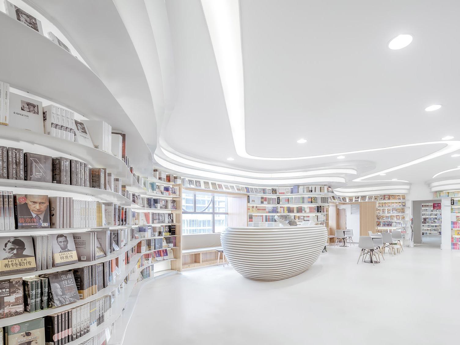 在十三朝古都西安,创造一个最轻盈洁白的钟书阁书店