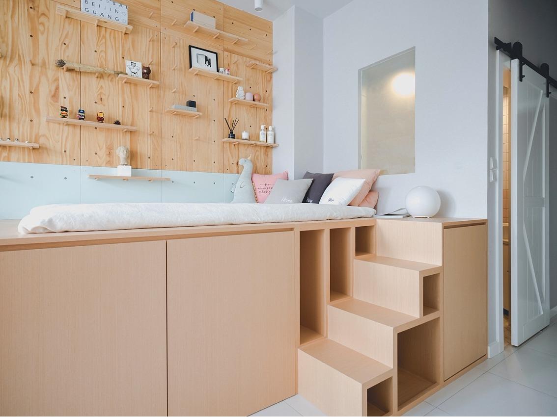 潘多拉的盒子|26平米公寓设计