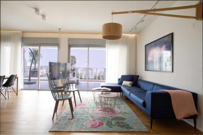 悉尼147平米三居公寓 时尚风海景房(^(╖ˇ▅╗┤╜_宜州软装设计