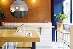 巴黎BLITZ餐厅,简单温暖的中东餐厅