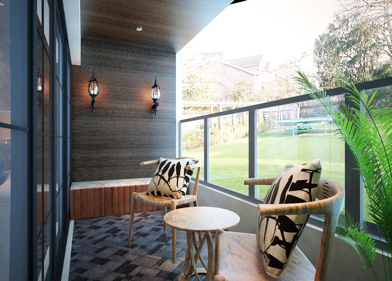 客厅与阳台装修