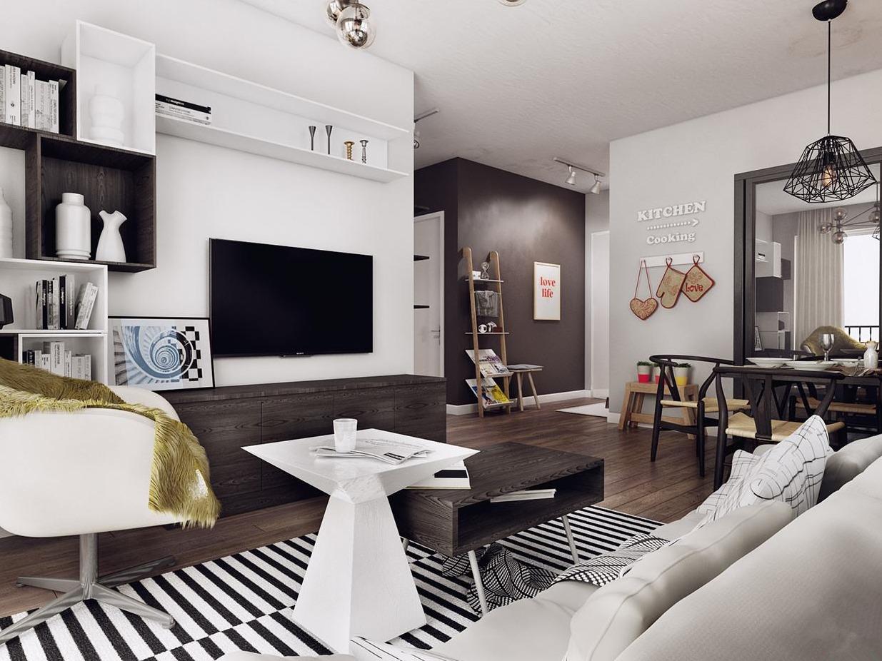 台北混搭风公寓 冷静朴实的舒适居所