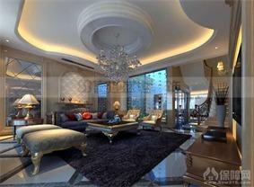 佳馨美墅客厅