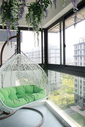 绿湖豪城阳台