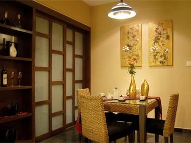东南亚餐厅吊顶效果图