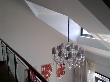 现代阁楼吊顶效果图